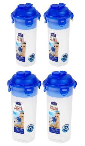 HPL934N DE Lock /& Lock 2 X One Touch Mixer Batter Shaker Water Bottle HPL931N