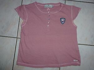 T-Shirt-VICTORIA-COUTURE-rose-TAILLE-12-ANS