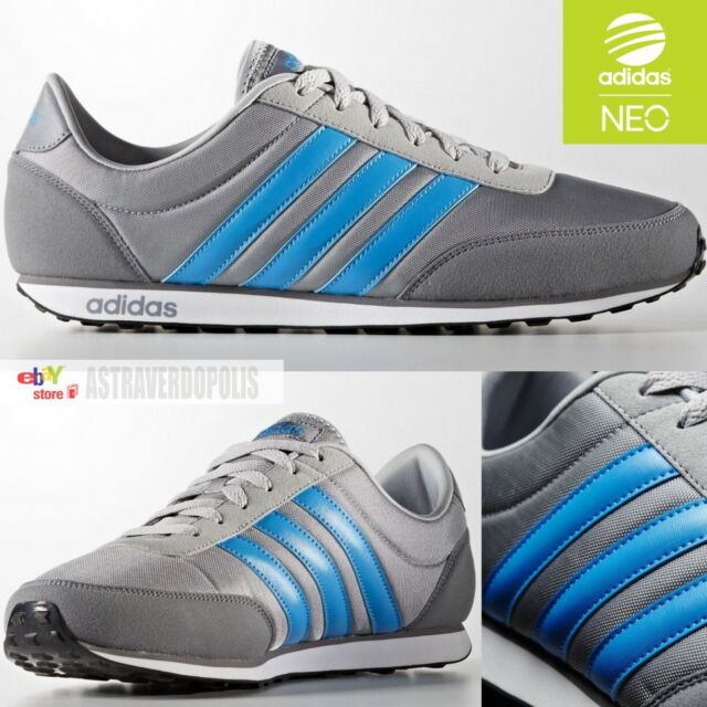 Men's Adidas NEO City Racer Navy Athletic Sneaker Casual