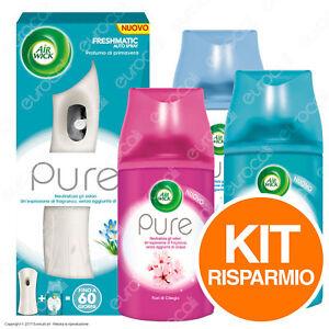 Air-Wick-Freshmatic-PURE-3-Ricariche-Assortite-Air-Wick-Autospray-PURE