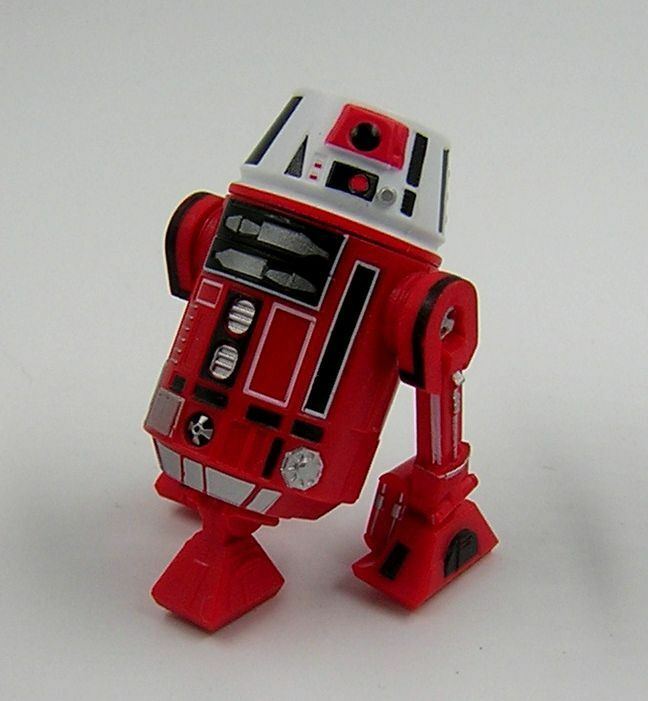 Star Wars Loose Star Tours Build A Droid ( B.A.D ) R6 Red Astromech Droid