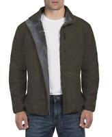 Weatherproof 32 Degrees Men's Sherpa Lined Fleece Jacket Military Green Spc