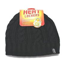 Heat Lockers Ladies Thermal Hat Insulated Lining Stretchable One Size Fit All BB