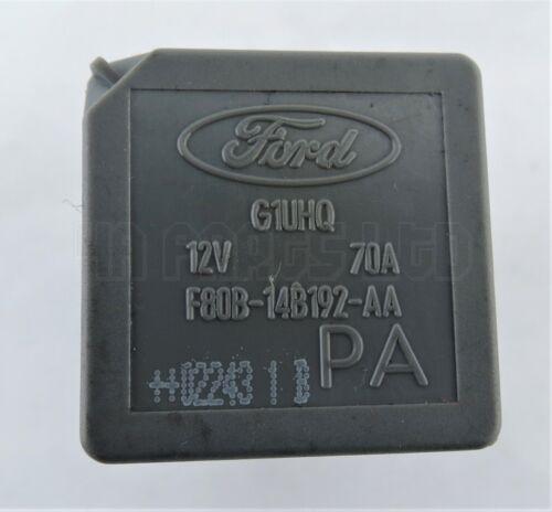 Ford Mondeo Focus Transit Kuga Grey Relay f80b-14b192-aa g1uhq 12 V 70 A PA