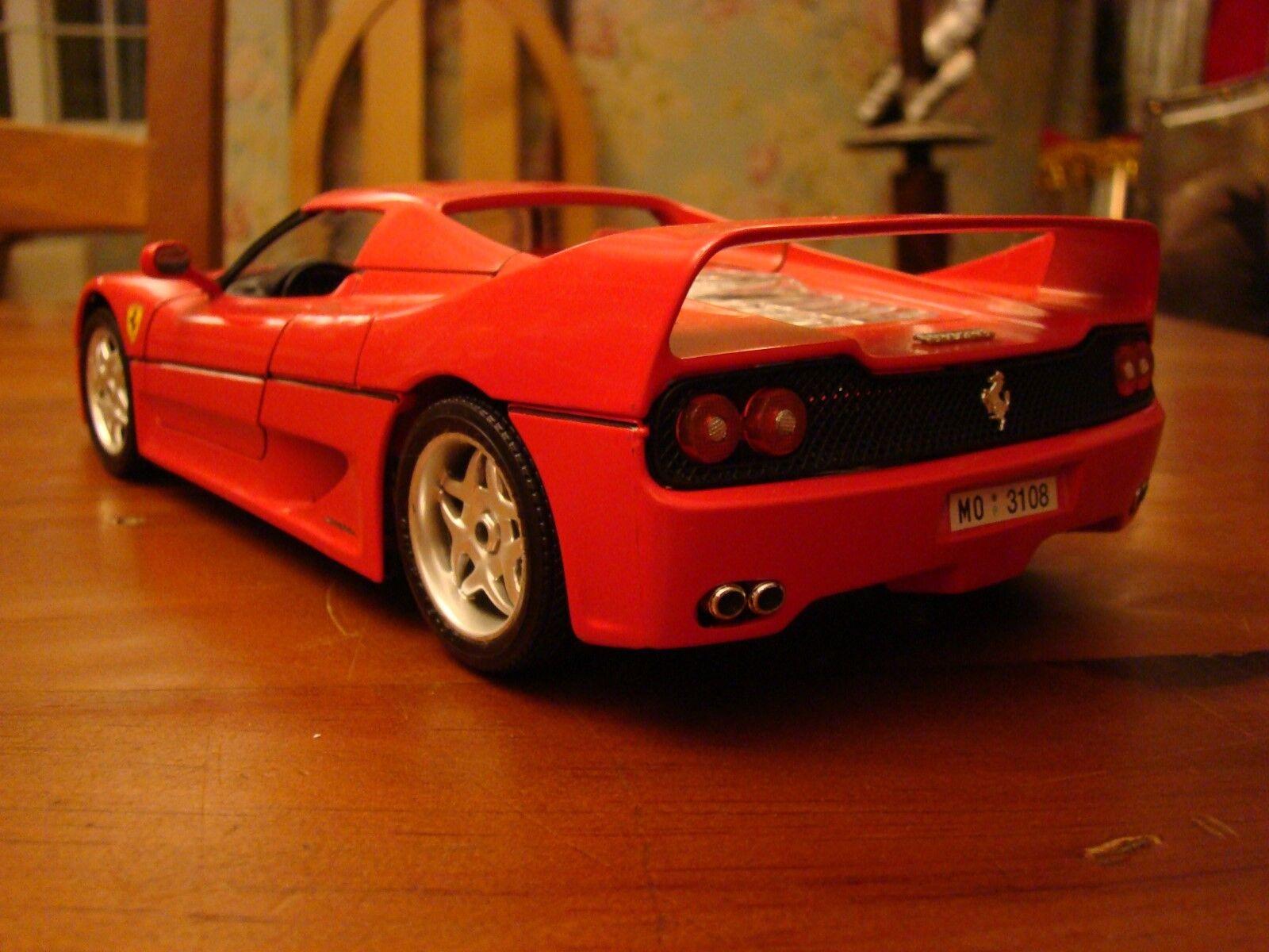 1/18 Ferrari F50 Hard-top 4.7 L V12 V12 V12 Coupe 641 F1 RARE | New Style,En Ligne  d40ee4