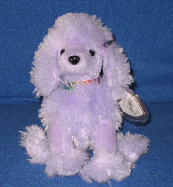 89d4d2006d0 Ty Beanie Baby Demure Purple Poodle Puppy Dog 2003 for sale online ...