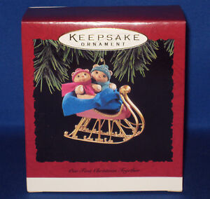 1994 HALLMARK (OUR FIRST CHRISTMAS TOGETHER) ORNAMENT   eBay