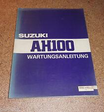 Werkstatthandbuch Suzuki AH 100 Stand 03/1994