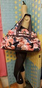 f7ff13f304d Lululemon Yoga On The Fly Secret Garden Duffel Bag Gorgeous Rose ...