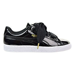 Details about WOMEN'S SHOES SNEAKERS PUMA BASKET HEART PATENT [363073 01]