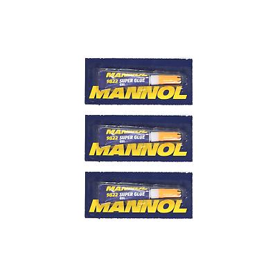 Kleber 3g Sofortklebstoff-gel Delikatessen Von Allen Geliebt Heimwerker 3 X Mannol 9822 Universell Klebstoff Gel