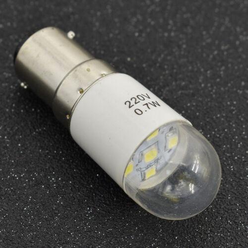 1Pc Universel 0.7 W 220 V DEL Lumière d/'économie d/'énergie ampoule pour machine à coudre lampe