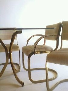 Image Is Loading Vintage Cantilever Baughman Dining Mid Century Modern Chair