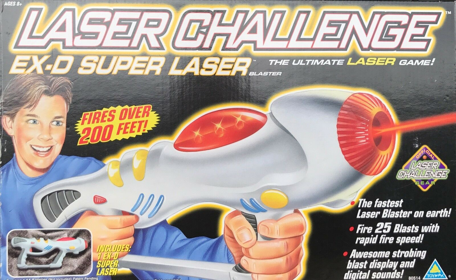 Laser Challenge Team Force Ex-D Rifle Gun - New