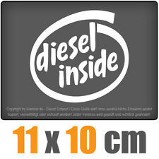 Diesel inside 11 x 10 cm JDM Decal Sticker Aufkleber Racing Die Cut