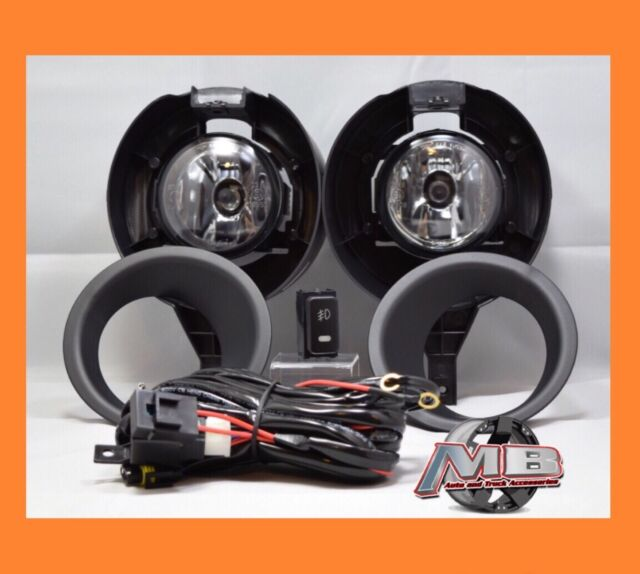 Superb Replacement Clear Lens Fog Light Kit Lamp For 05 15 Nissan Frontier Metal  Bumper
