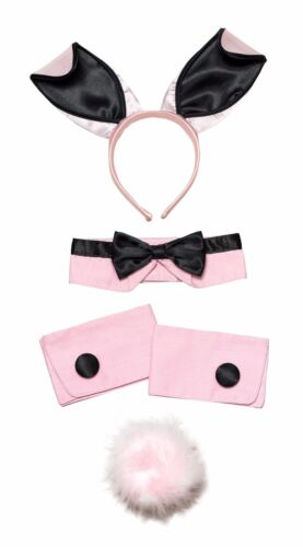 Easter Bunny Girl Rabbit 3 /& 5 Pieces Ear Set Hen Night stag Party Fancy Dress