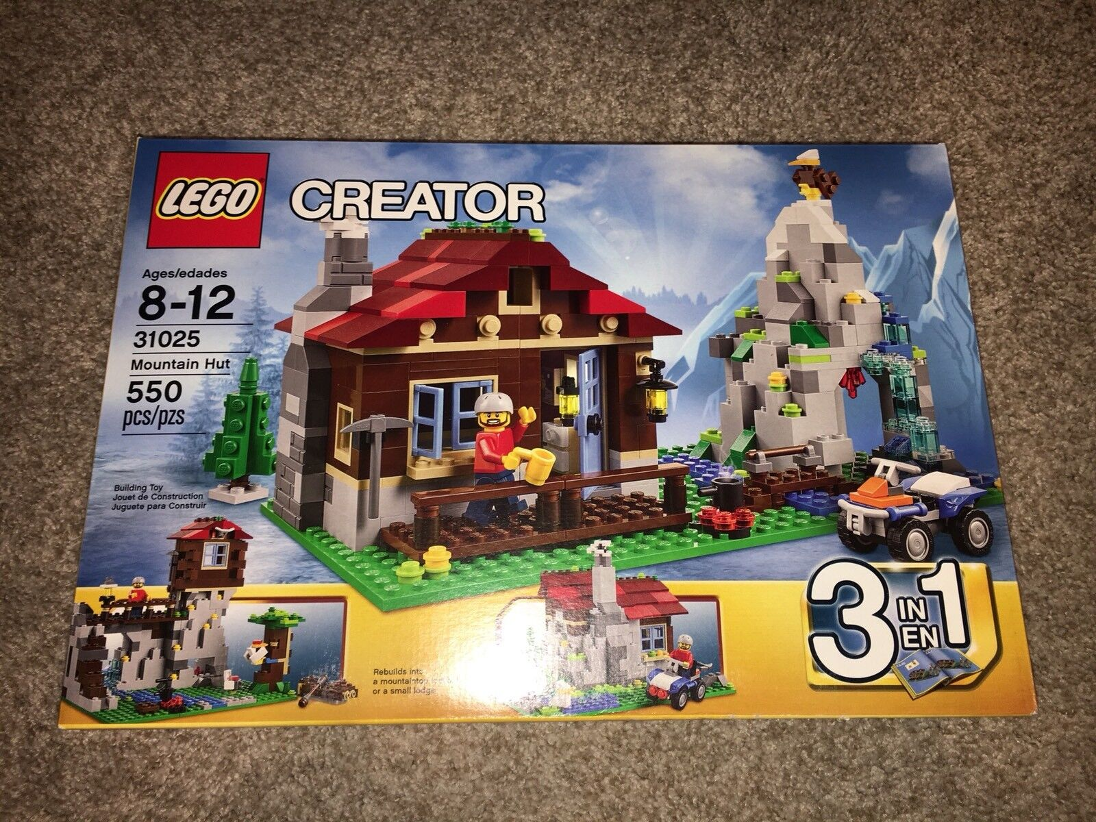 la migliore moda LEGO Creator Mountain Hut (31025) Bre nuovo In scatola scatola scatola  disponibile