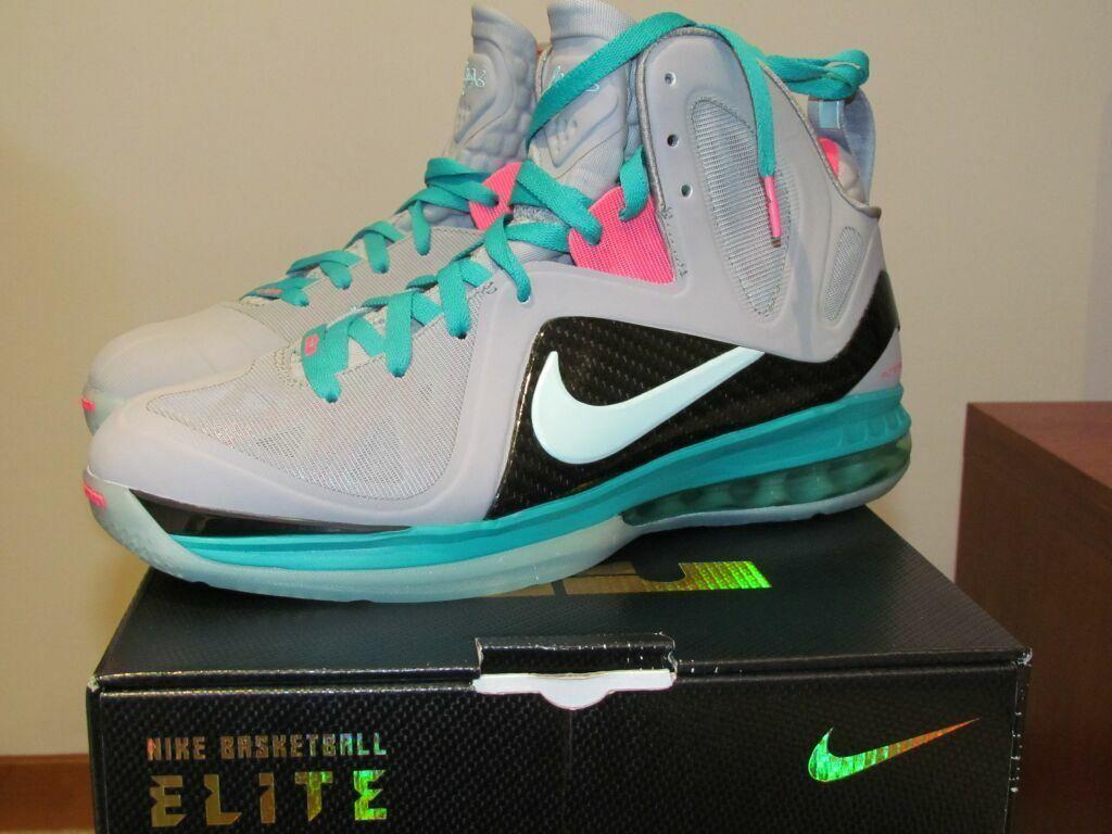 premium selection 48ee2 52c43 Nike LeBron LeBron LeBron 9 IX South Beach Elite ps ps DS deadstoke US 9,5  Wild Casual Shoes 3e5e47
