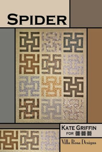 Spider Quilt Pattern-A Fat Quarter Quilt