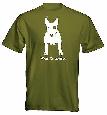 *NEW* Mens Premium T-Shirt English Bull Terrier Made in England Colour Options