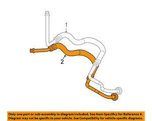 Magnificent Saturn Gm Oem 04 07 Vue 3 5L V6 Transmission Oil Cooler Line Wiring 101 Relewellnesstrialsorg