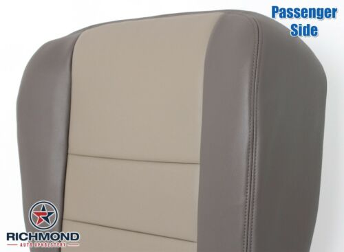 2002 Ford Excursion Limited EDDIE BAUER-Passenger Side Bottom Leather Seat Cover