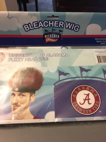 Alabama Crimson Tide Game Day Wig