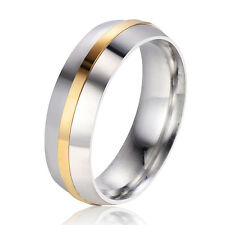 white Gold Plated love engagement wedding ring size 8 mens pinky free shipping