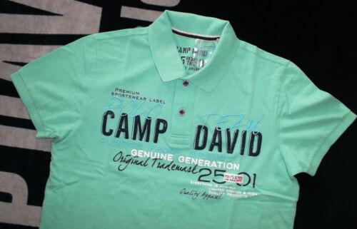 Brand actualmente camp david camiseta polo color verde o rojo t-shirt talla L nuevo