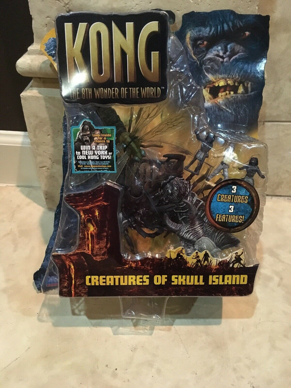 re Kong 8th Wonder Of The World CREATURES OF SKULL ISLe cifras, Playmates