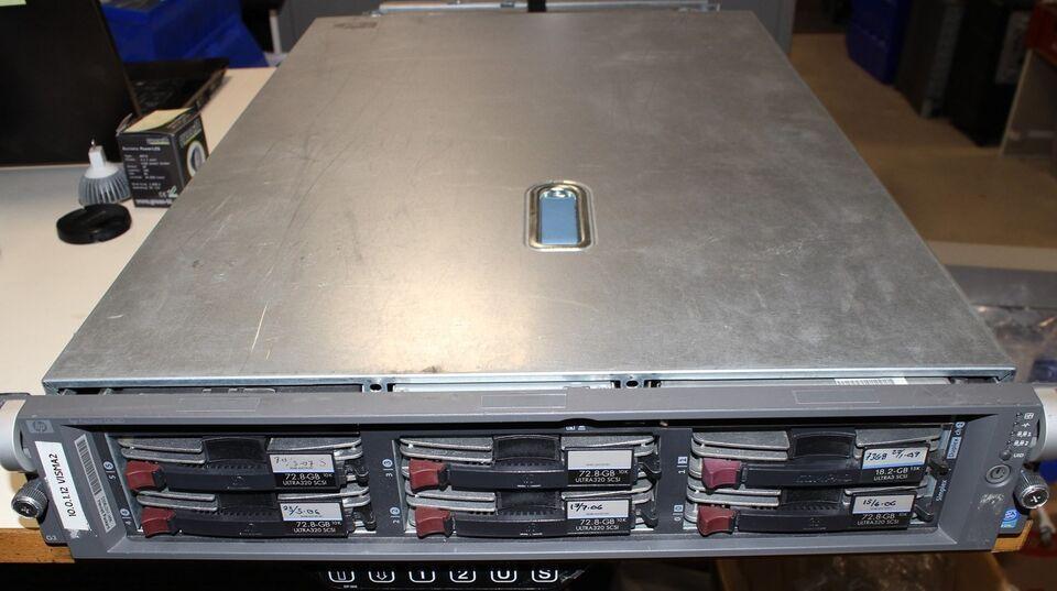 HP Hewlett Packard , Server