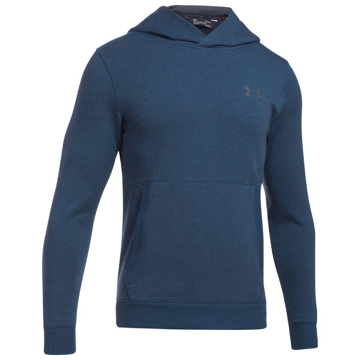 Under Armour Threadborne Fitted Fleece Hoodie Sweatshirt Pullover 1306551-953