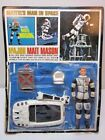 VINTAGE 1966 MATTEL MAJOR MATT MASON UNPUNCHED CARD OPENED 1960'S SPACE TOY