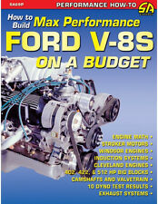 How to Build Max Performance Ford V-8s on a Budget Book~289-302-351-FE BB~NEW!