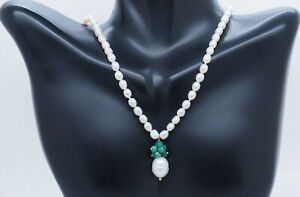 Ross-Simons-Zoe-B-14K-Yellow-Gold-Freshwater-Pearl-w-Emerald-Lariat-Necklace-20-034
