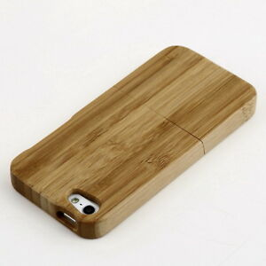 Natural-Bamboo-Wood-Hard-Back-Case-Cover-Protector-for-Apple-iPhone-5-5S-MK