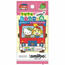 Amiibo Card Animal Crossing x Sanrio 1 pcs(2 cards & 1 seal) New Japan