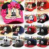 Children Kids Mickey Baseball Caps Snapback Hip-hop Sports Boy Girl Sun Hat Caps