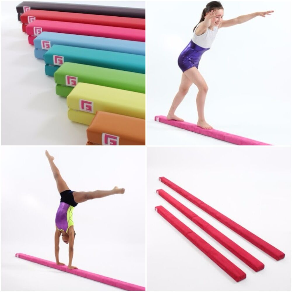 FAUX LEATHER GYMNASTIC BEAM 2.4m BY GYM FACTOR LTD specialee OFFER
