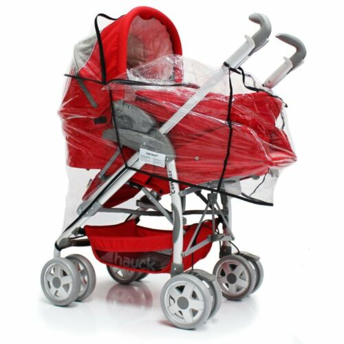 Rain Cover For Mamas /& Papas Sola² MTX Duo Pushchair Package