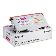 original Lexmark   20K1401 magenta Toner für C510  A-Ware