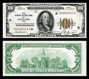 1929-UNC-100-00-NATIONAL-BANK-COPY-NOTE-PLEASE-READ-DESCRIPTION