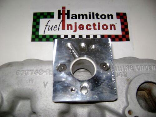1 BBL Throttle Body Chevrolet Stovebolt TBI Adapter for Ford Chrysler IH