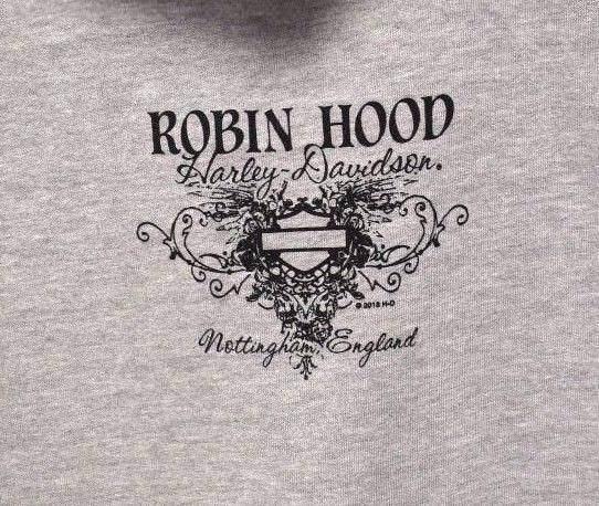 Harley Davidson® Fissure Womens Hoody Robin Hood Hood Hood Nottingham Dealer Hoodie New b58650
