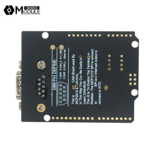 MCP2515 Can Bus controller shield board module For arduino
