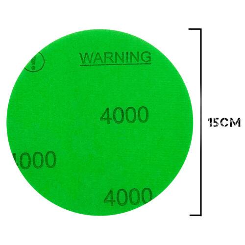 20x 150 mm Meule ponceuse meuleuse-Velcro-Finish Disc meule Ponceuse Disque abrasif dipoxy