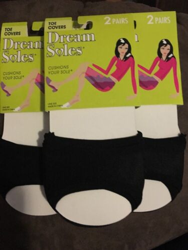 3 Sets Of 2 Dream Soles Cushions Toe Covers 6pair