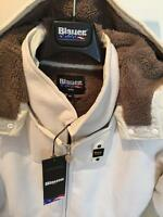 BLAUER USA Winter Jacke, Jacket, dick + Futter, Gr. S-M 36-38 Beige + GUCCI Bag
