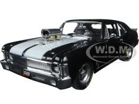 1970 Chevrolet Nova 1320 Kings Blown Drag Black Ed. To 1074pc 1/18 Gmp 18808
